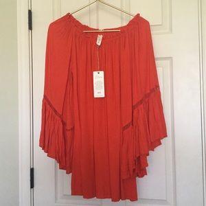 NWT Elan Swim Coverup Dress